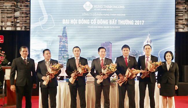 Hưng Thịnh Incons tổ chức thành côngđại hội đồng cổ đông bất thường 2017