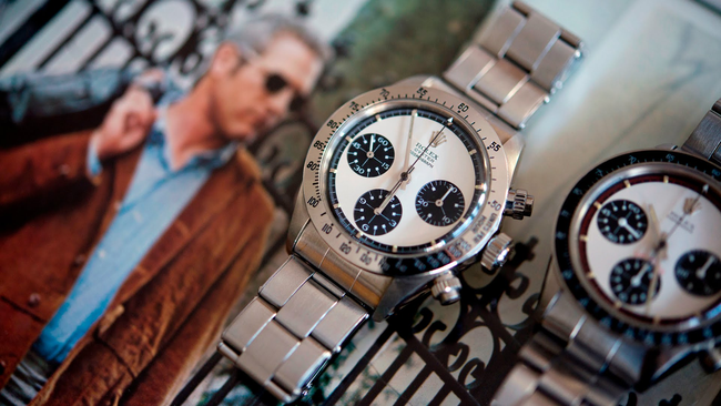 """""""Siêu đồng hồ"""" Rolex của huyền thoại Paul Newman sẵn sàng lên sàn đấu giá bạc tỷ"""