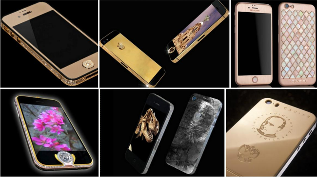 """iPhone X giá nghìn đô cũng chưa đắt nhất, đây mới là 10 chiếc iPhone có giá """"trên trời"""" khiến ai cũng bất ngờ"""