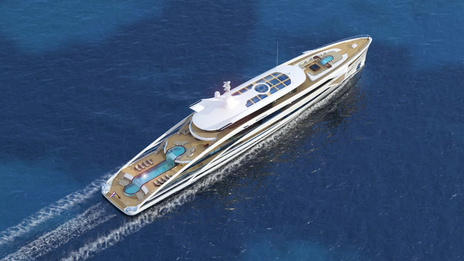 Ngắm nhìn siêu du thuyền Maximus - Con tàu dành cho những ông chủ