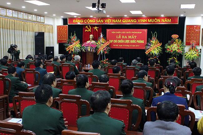 Công bố các quyết định về tổ chức, nhân sự của quân đội
