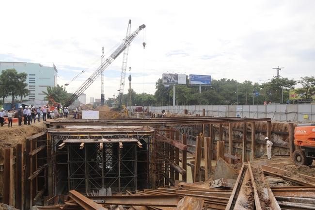 Đà Nẵng: Hầm chui phục vụ APEC chậm tiến độ