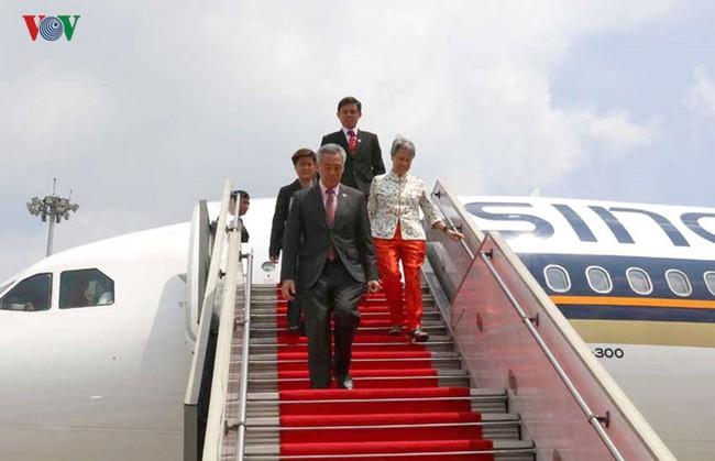 Hình ảnh: 3 lần Thủ tướng Singapore Lý Hiển Long thăm Việt Nam
