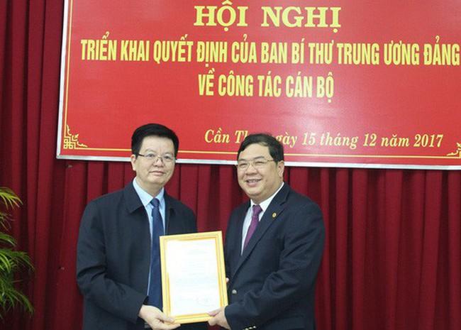 Phó bí thư Cần Thơ làm Phó trưởng Ban Nội chính Trung ương