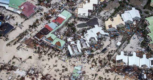 Sau bão Irma, nhiều đảo thiên đường ở Caribbean thành bình địa nhung nhúc chuột bọ