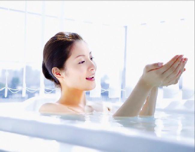 Tắm khỏe trong mùa rét