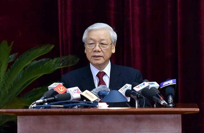 Toàn văn phát biểu khai mạc Hội nghị Trung ương 6 của Tổng Bí thư Nguyễn Phú Trọng