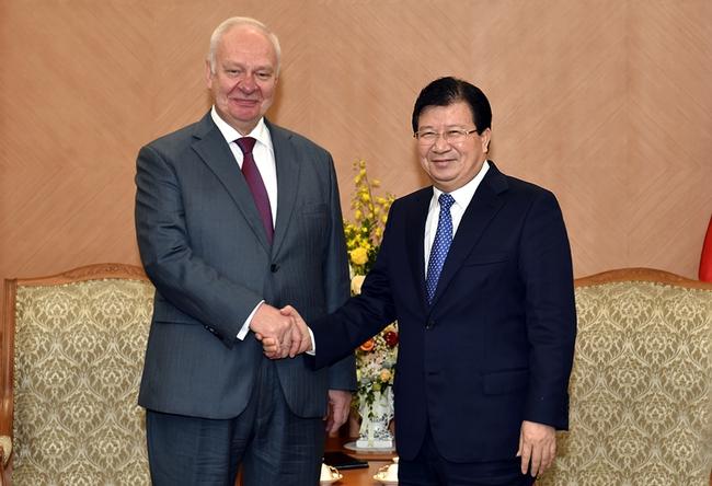Việt - Nga hướng tới kim ngạch thương mại 10 tỷ USD