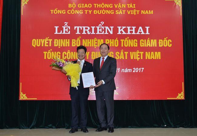 Tổng công ty Đường sắt Việt Nam có tân Phó Tổng giám đốc