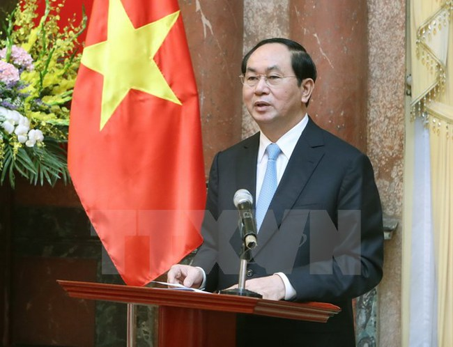"""Chủ tịch nước: Nỗ lực xây dựng thương hiệu """"Made in Vietnam"""""""