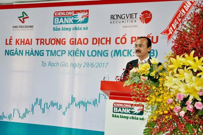 Cổ phiếu Kienlongbank chính thức lên sàn