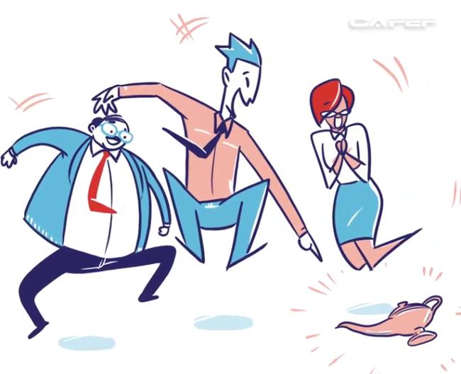 Bài học xương máu: Luôn luôn để sếp nói trước!