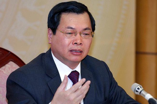 Hậu xóa chức nguyên Bộ trưởng, các chế độ của ông Vũ Huy Hoàng đang được giao nghiên cứu lại