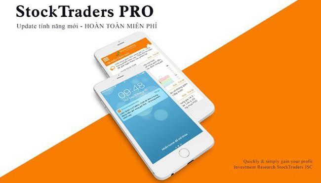 StockTraders phát triển và nâng cấp ứng dụng Tín hiệu cảnh báo trên di động dành cho iOS và Android