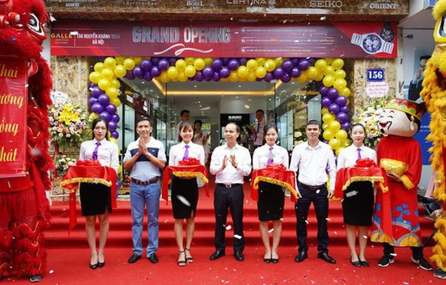 Seiko Watch & Clock Center chính thức đi vào hoạt động tại số 156 Nguyễn Khánh Toàn Hà Nội