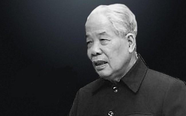 Danh sách Ban lễ tang nguyên Tổng Bí thư Đỗ Mười