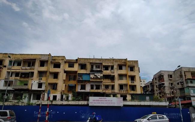 """Vì sao dự án cải tạo chung cư cũ trên """"đất vàng"""" 93 Láng Hạ chậm tiến độ?"""