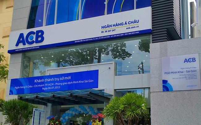 Người nhà Phó Tổng Giám đốc ACB đăng ký mua vào 300 nghìn cổ phiếu