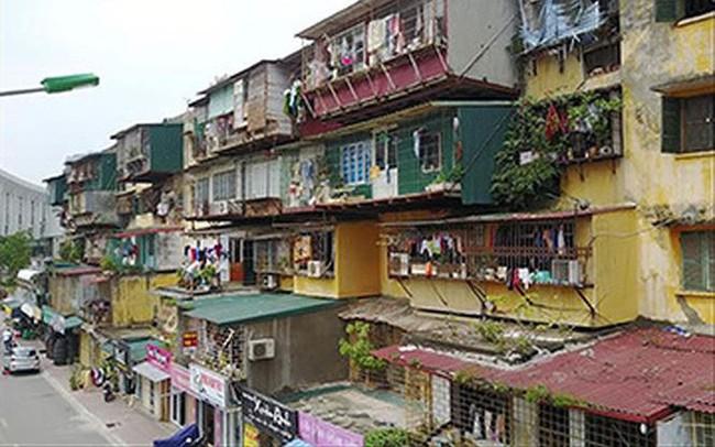Cải tạo chung cư cũ: Đề xuất được chỉ định doanh nghiệp