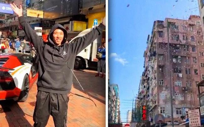 Triệu phú bitcoin bị bắt giữ sau khi tạo ra cơn mưa tiền từ trên tầng thượng của một tòa nhà ở Hong Kong