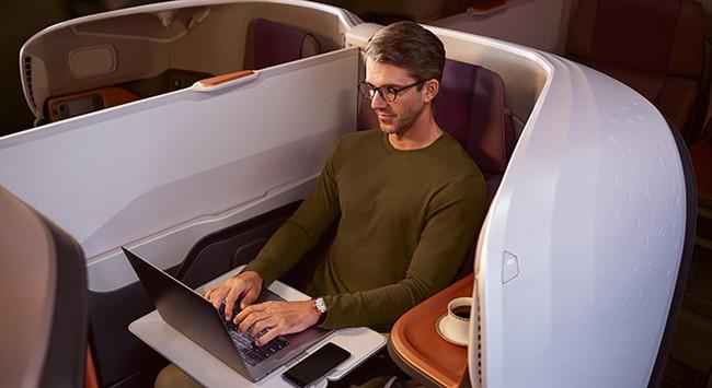 Giảm chi phí công tác cùng Singapore Airlines