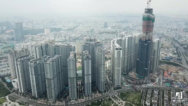 Những hình ảnh mới nhất về tòa nhà cao nhất Việt Nam trước ngày cất nóc