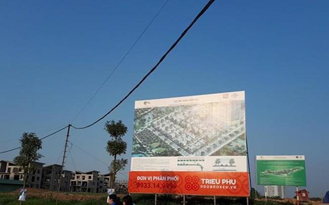 Dự án Khai Sơn Hill: 26 biệt thự không phép dừng thi công, chờ cấp GPXD