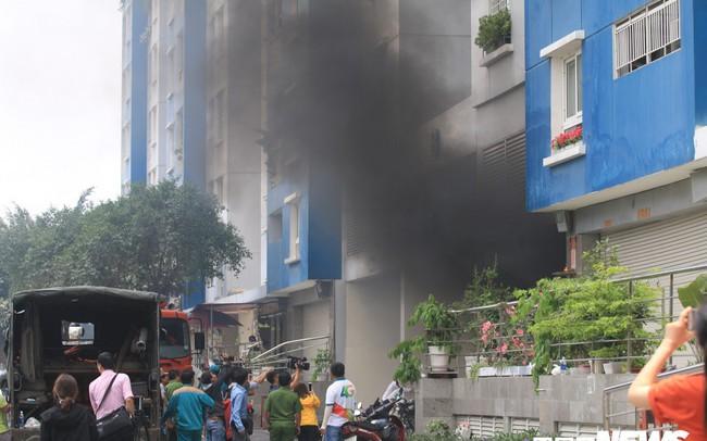 Cháy chung cư Carina ở TP.HCM: Thêm một nạn nhân không qua khỏi
