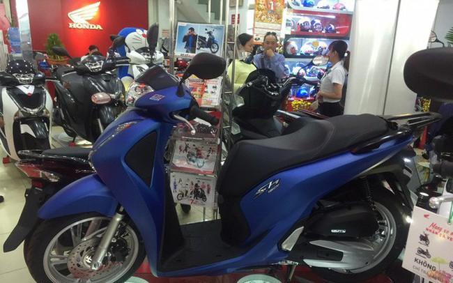 Thị trường xe máy đang ế ẩm
