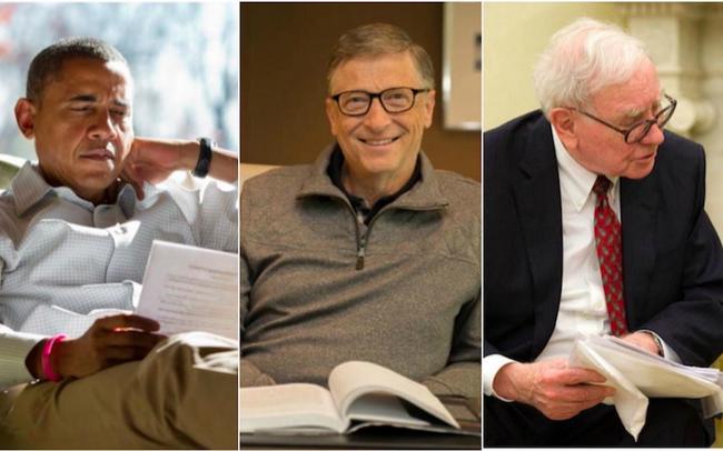 Tại sao bạn nên dành nhiều thời gian để đọc sách như Barack Obama, Bill Gates hay Warren Buffett?