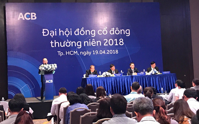 """ĐHCĐ Ngân hàng ACB: Trả cổ tức 30%, người của nhóm """"bầu Kiên"""" và Tổng giám đốc Đỗ Minh Toàn không có tên trong danh sách bầu HĐQT"""