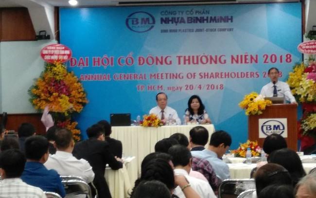 ĐHĐCĐ Nhựa Bình Minh: Áp lực chiết khấu đã giảm bớt, cổ đông Thái đưa người vào HĐQT