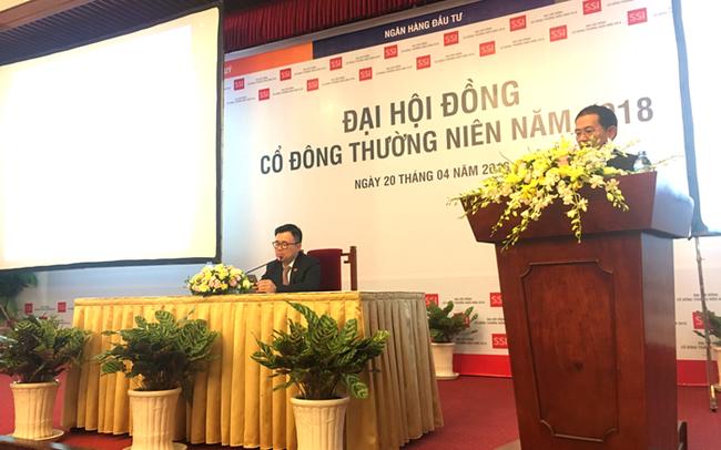 ĐHĐCĐ SSI: Doanh thu IB năm 2017 đạt đỉnh hơn 111 tỷ đồng, Chủ tịch Nguyễn Duy Hưng nói gì?