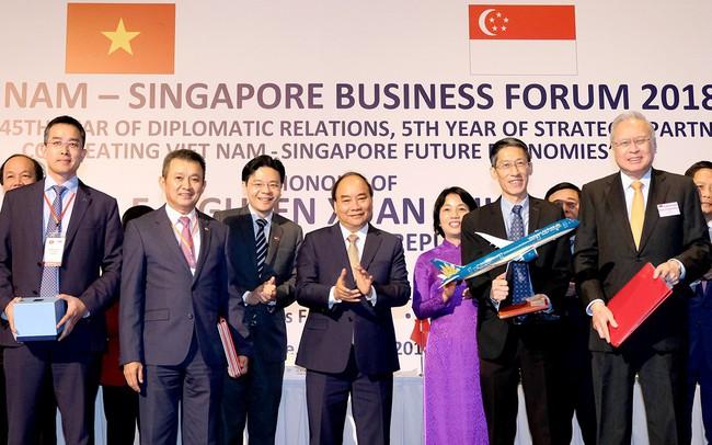 Vietnam Airlines hợp tác với doanh nghiệp Singapore thành lập công ty liên doanh