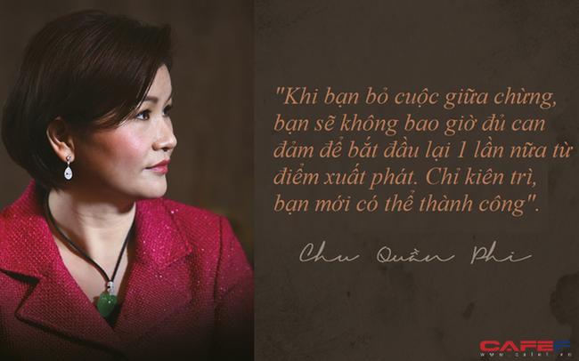 Bà chủ đế chế màn hình điện thoại tỷ đô Chu Quần Phi: Bí quyết thành công của tôi là không bao giờ bỏ cuộc