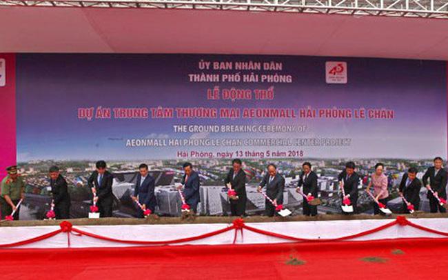 Động thổ dự án Trung tâm thương mại AEONMALL Hải Phòng