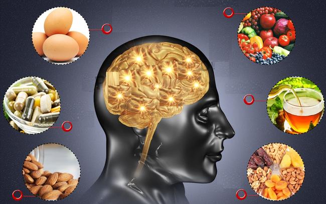 Kết quả hình ảnh cho Ăn thực phẩm có lợi cho não bộ