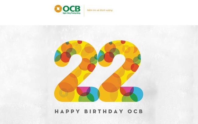 """OCB """"chào hè"""" với siêu khuyến mãi OCB 22"""