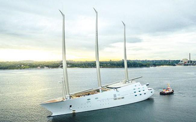 Chiêm ngưỡng siêu du thuyền lớn nhất thế giới của tỷ phú Nga: Công trình vĩ đại khiến bất kỳ ai cũng phải choáng ngợp