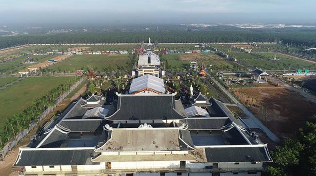 Hoàn thiện công viên nghĩa trang 500 tỷ đồng Vĩnh Hằng Long Thành