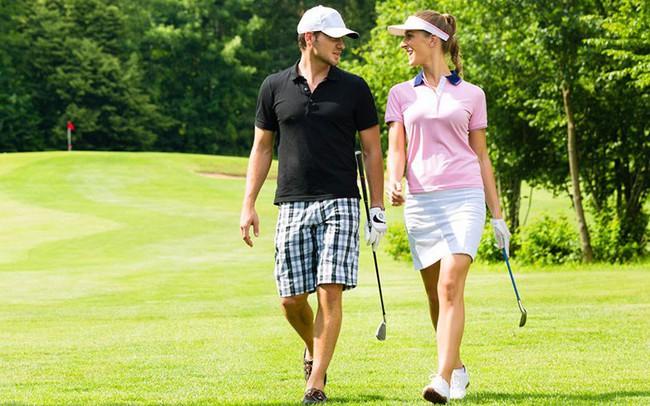 Phái đẹp sẽ không phải hối tiếc khi yêu những chàng trai chơi golf ...