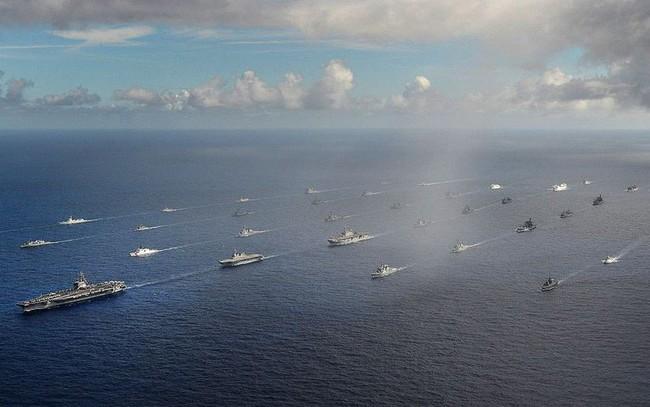 Mỹ mời Việt Nam tham dự tập trận Hải quân lớn nhất thế giới RIMPAC 2018