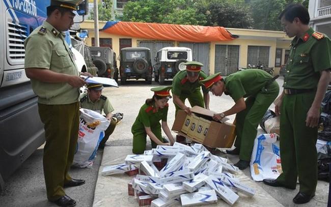 Thêm hơn 6.700 bao thuốc lá lậu bị bắt giữ
