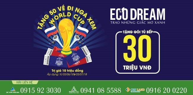 Eco Dream hòa nhịp cùng World Cup