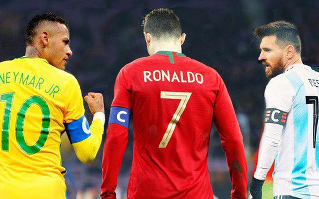 Neymar: Tôi là số một thế giới, còn Messi và Ronaldo là người ngoài hành tinh