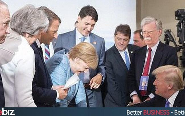 Tổng thống Trump tiết lộ sự thậtđằng sau bức ảnh 'cô lập' ông tại G7