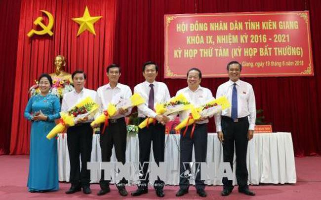 Kiên Giang bổ nhiệm nhân sự chủ chốt