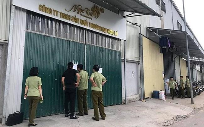 (NÓNG) Phát hiện hàng ngàn sản phẩm đông y làm đẹp dởm ở Hà Nội