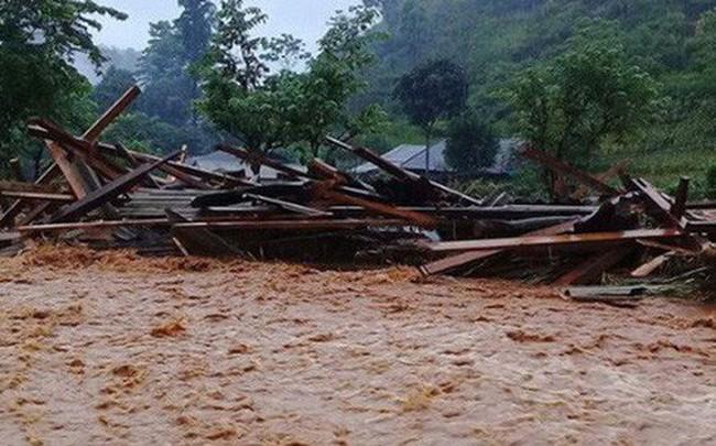 19 người chết và mất tích do mưa lũ ở miền núi phía Bắc