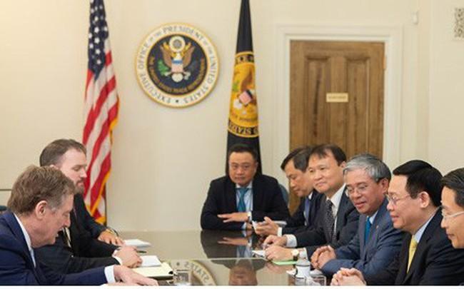 Việt Nam và Hoa Kỳ đẩy mạnh hợp tác 3 trụ cột kinh tế lớn